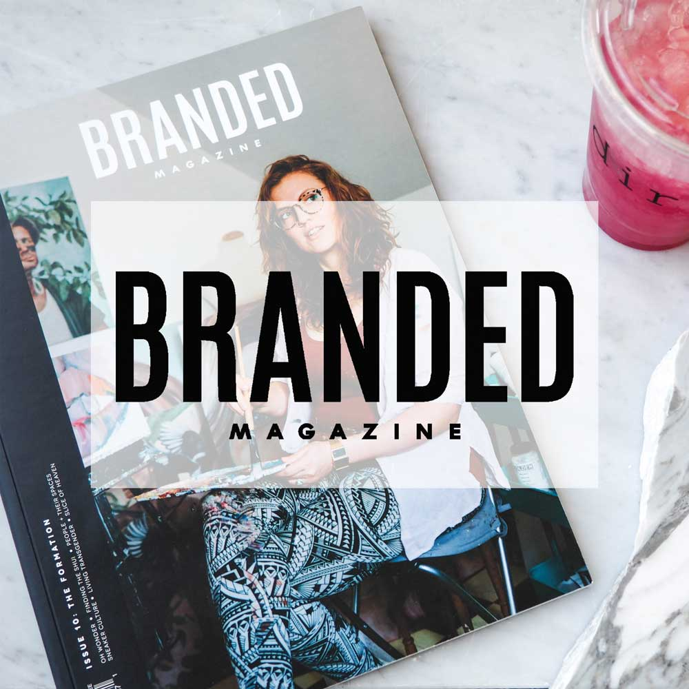 Branded Magazine. Simmons Building. Design. May 2016.