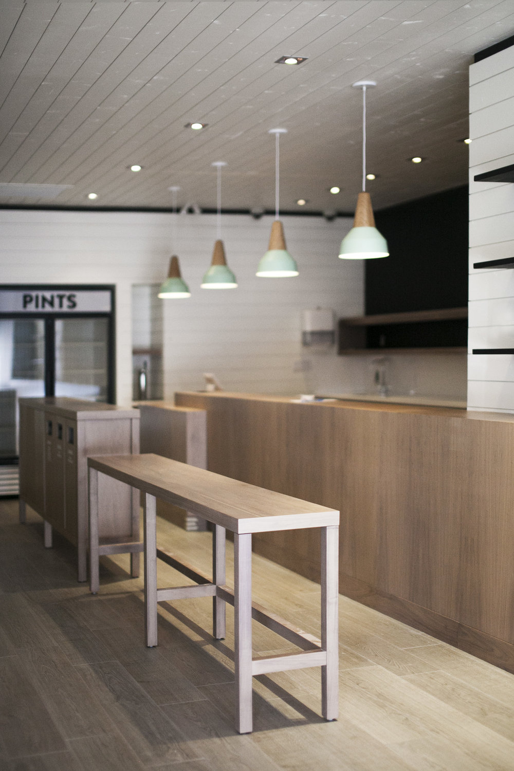 Village Ice Cream Interior Design Mckinley Burkart
