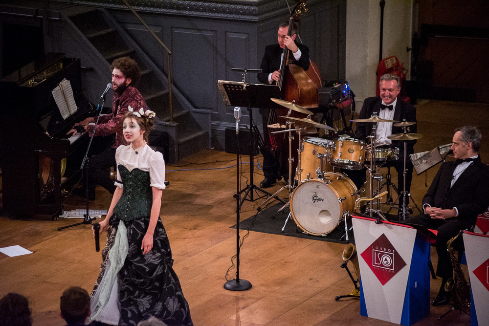 PBC plays with the London Swing Orchestra