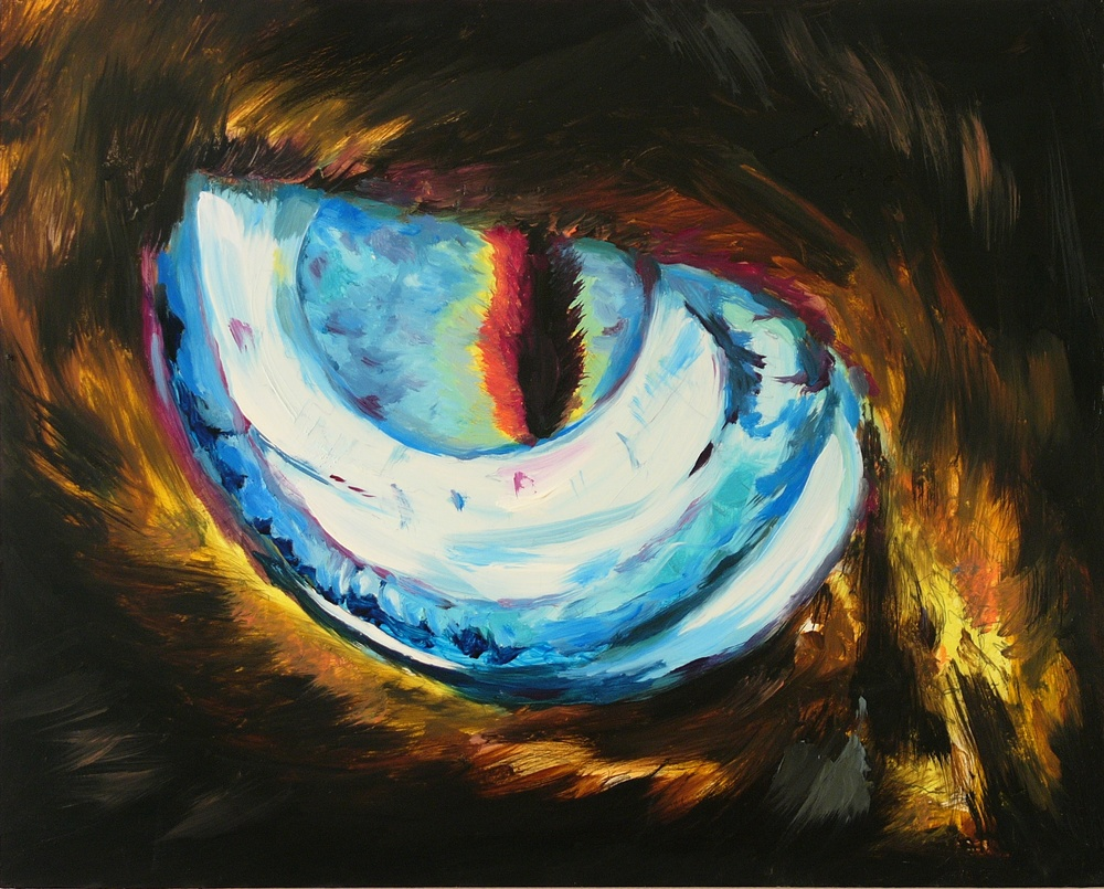 Azure Siamese Eyes