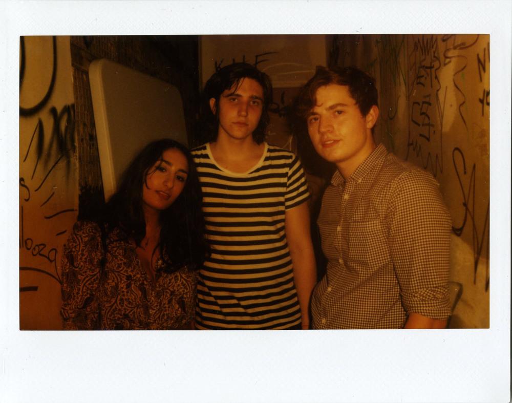 Yasmine (Left), Lucas (Center), Nick (Right)