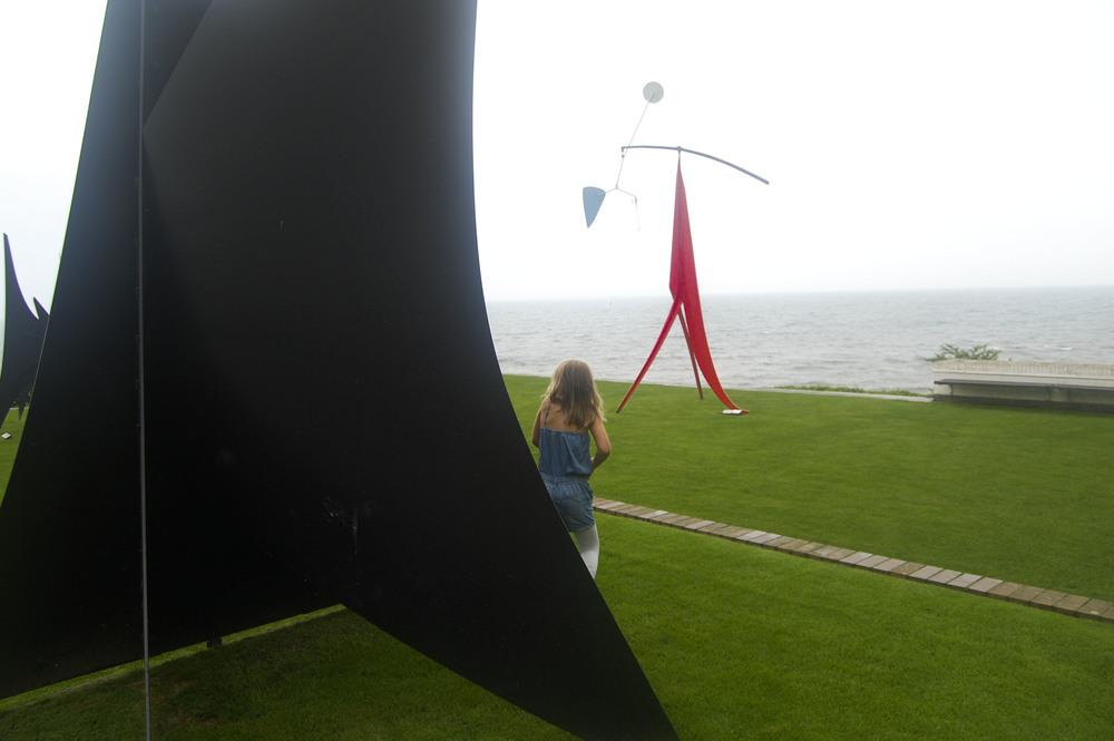 Louisiana Museum of Modern Art, sculpture garden   Humlebæk, Denmark 2012
