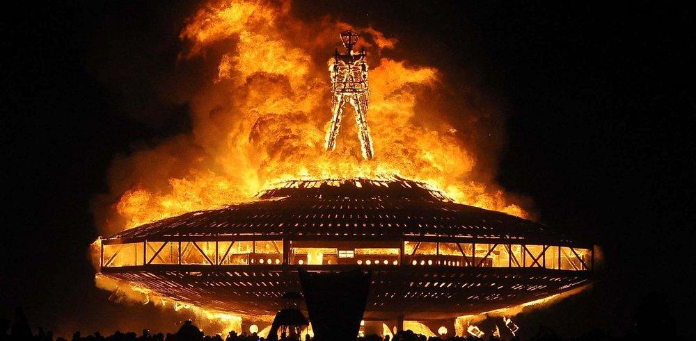 Image result for burning man burning 2017