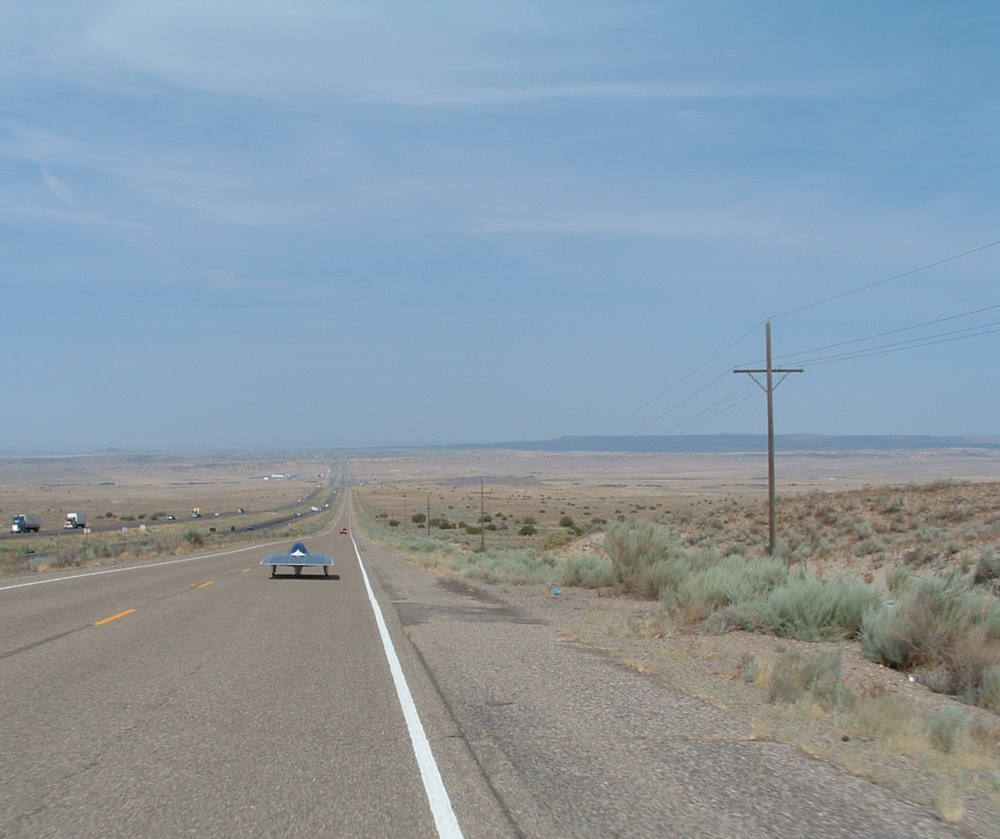 From the cities of the midwest into the arid plains of the West...