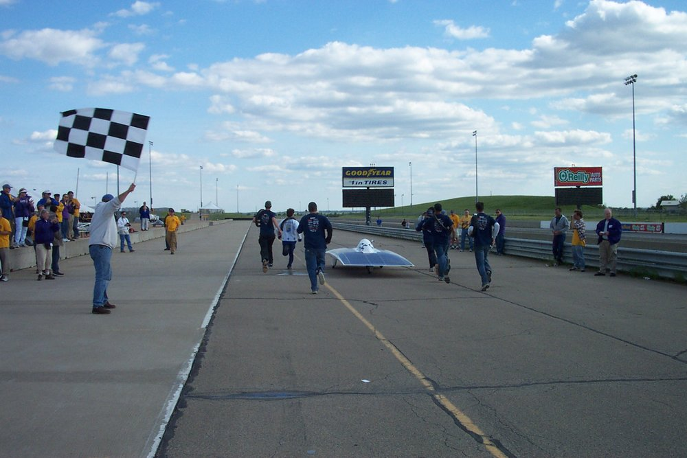 chekered flag after FSGP 2002.jpg.JPG