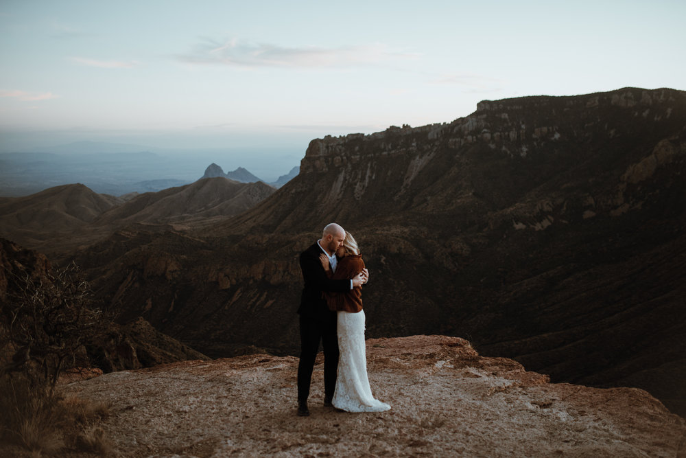 Bryan + Hannah - Big Bend National Park: Elopement
