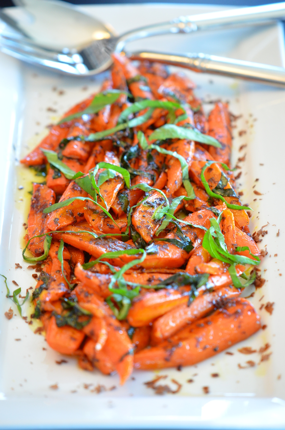 Carrots get a rustic and chic makeover!