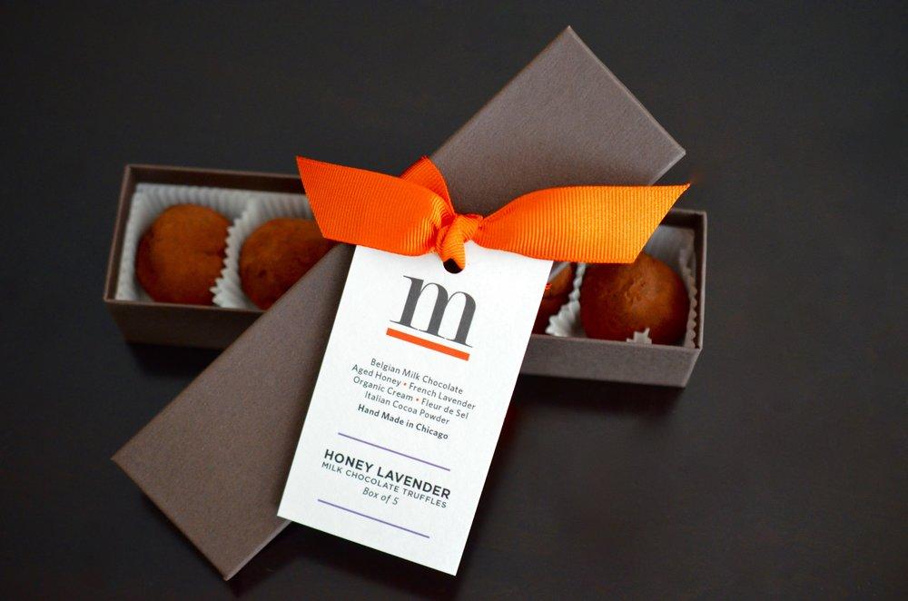 Individual Gift Box (5 Truffles): $19.00
