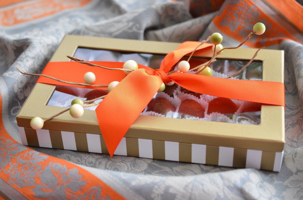 Autumnal Gift Box (28 Truffles): $85.00