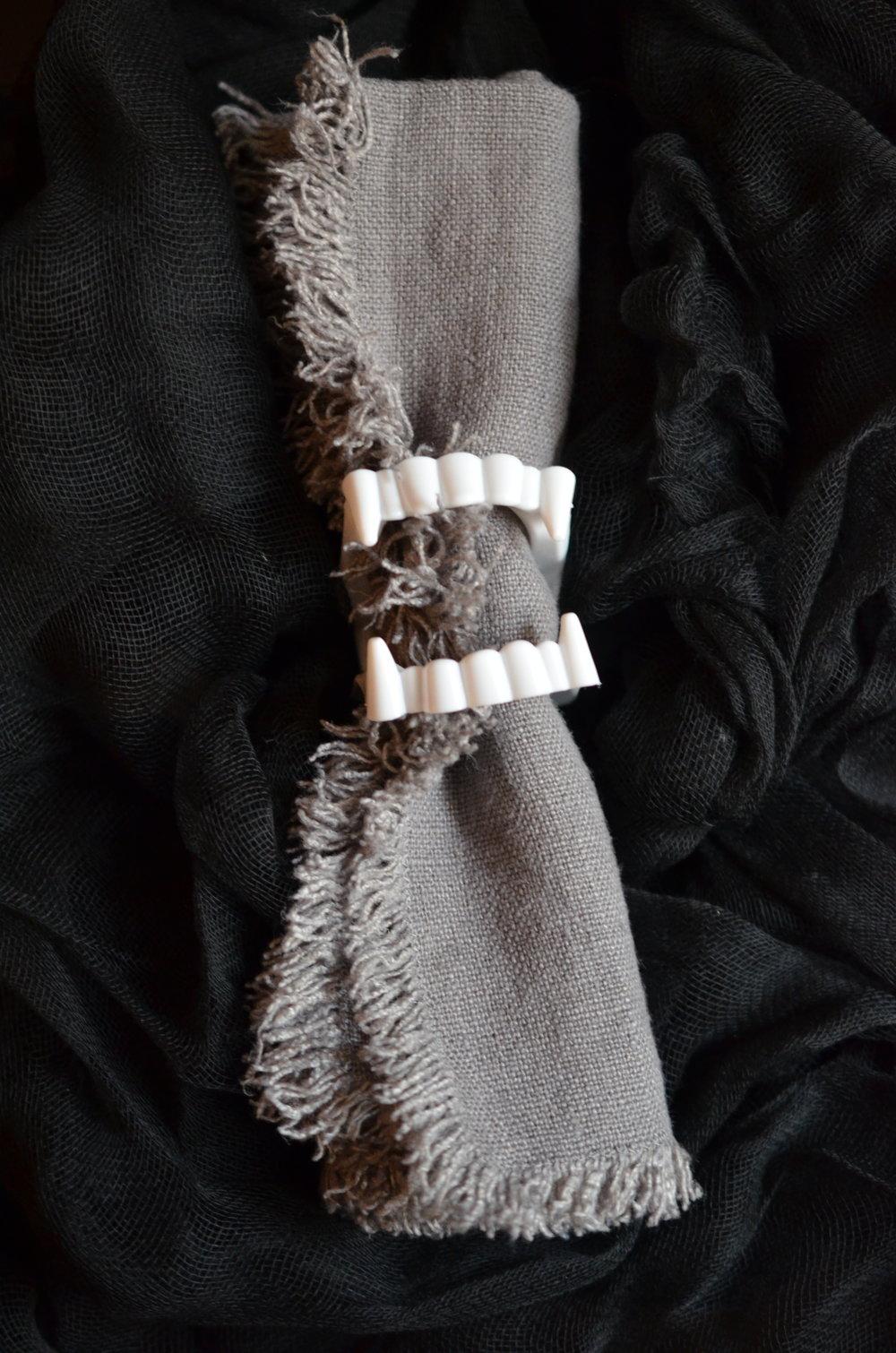 Dracula Napkin Rings