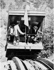 Near the summit, 1902  Courtesy Beacon Historical Society