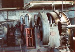 Powerhouse machinery before the 1983 fire...    Courtesy Beacon Historic Society