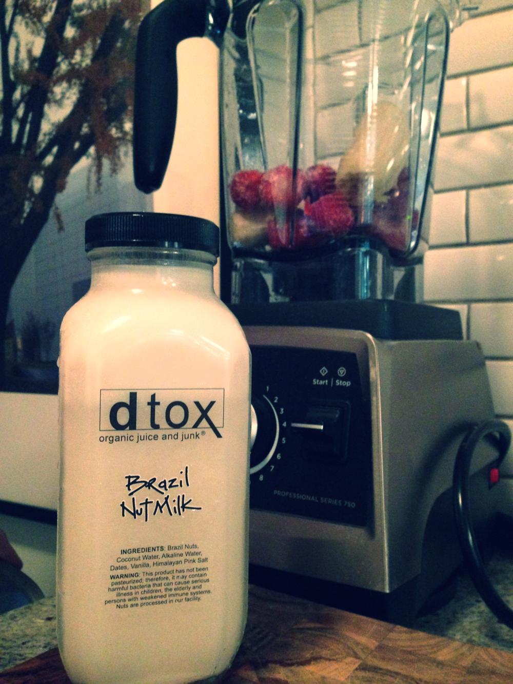 DTOX Brazil Nut Milk