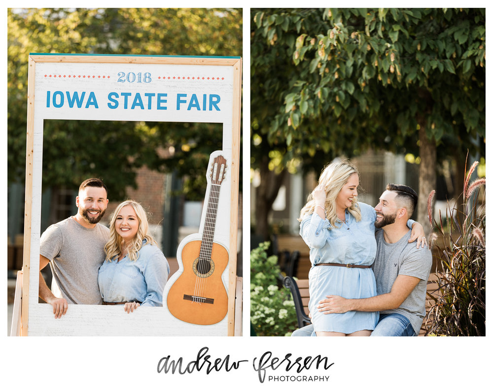 2 Iowa State Fairgrounds Engagement Session Iowa Wedding Photographer Andrew Ferren Photography Pinterest.jpg