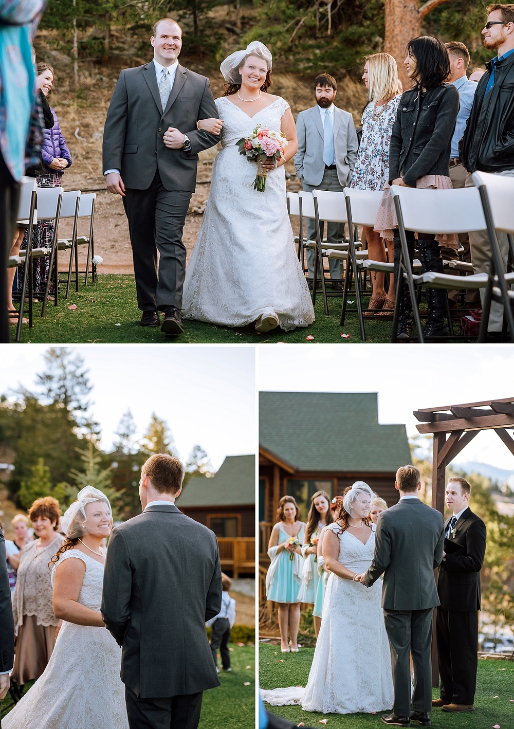 Mary's Lake Lodge in Estes Park is an amazing wedding venue up in Estes Park! I would love to be surrounded by those mountains during my wedding! Photo by Maddie Mae Photography