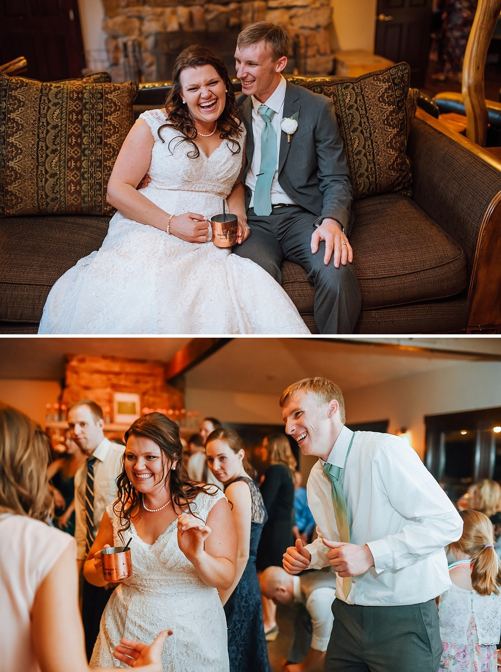 I love Moscow Mules! Definitely going to have them at my wedding reception! Perfect for a mountain wedding up in Estes Park! Photo by Maddie Mae Photography