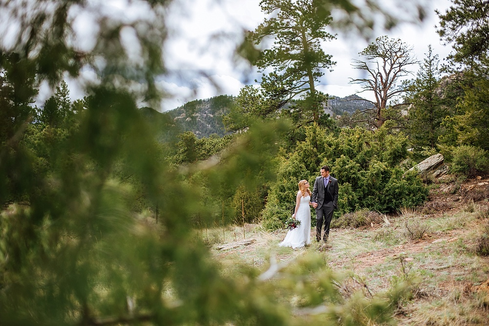 This is the perfect place for a wedding. Rocky Mountain National Park is absolutely stunning- I would love to have my own wedding there!! Photo by Maddie Mae Photography
