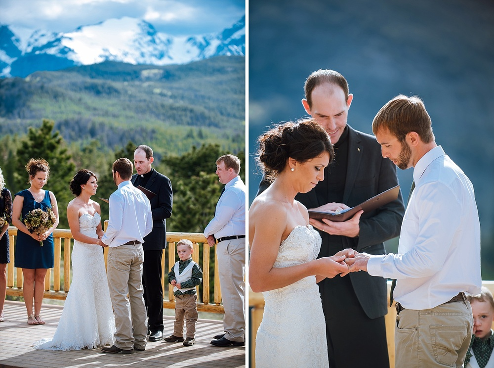 Overlook Chapel is a great venue for an intimate mountain wedding. Photo by Maddie Mae Photography