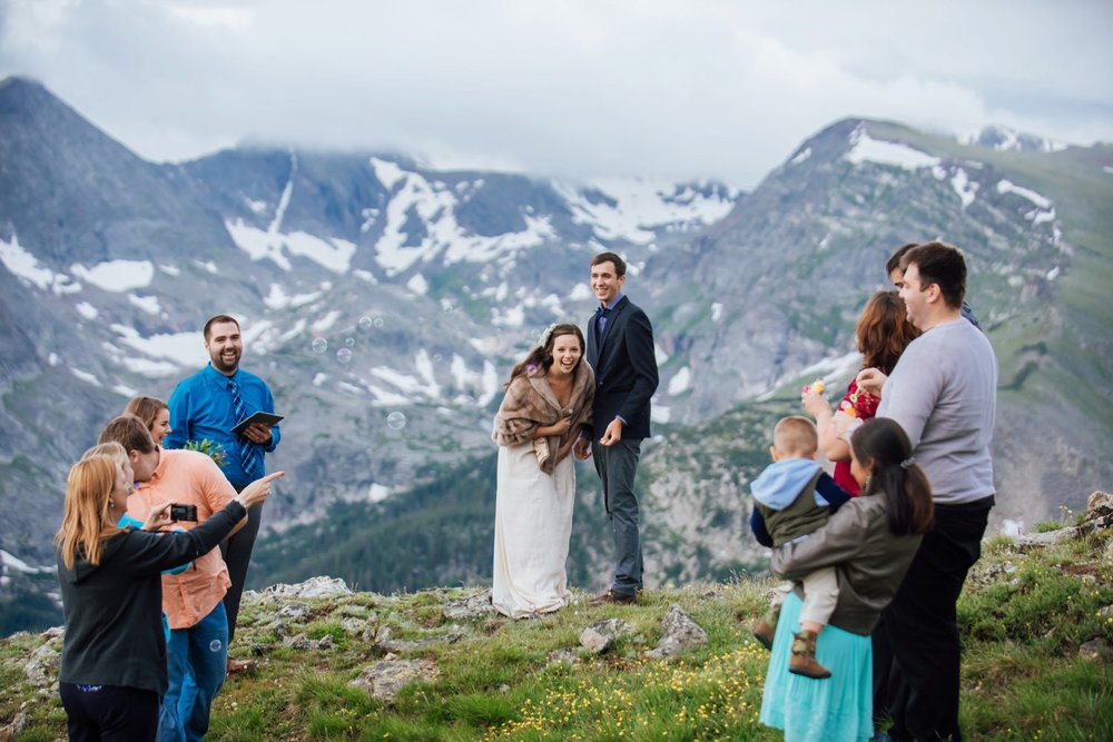 Small weddings are so intimate and much more personal! Photo by Maddie Mae Photography