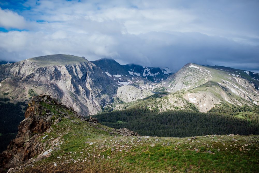 Rocky Mountain National Park is absolutely stunning. The perfect place for a mountain wedding! Photo by Maddie Mae Photography