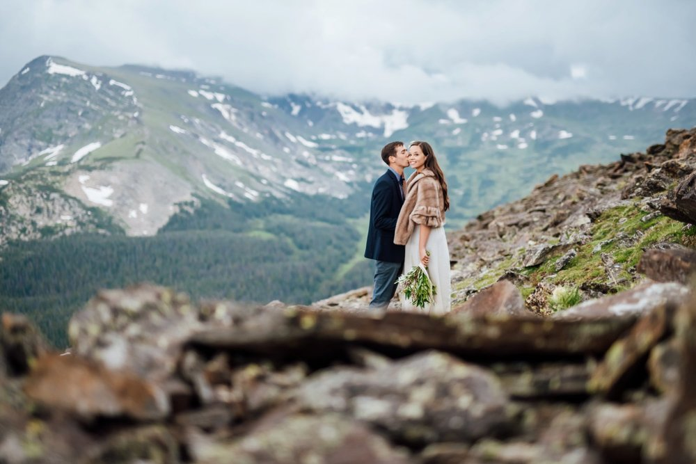 The mountains in Colorado are so beautiful with their dramatic landscapes. Photo by Maddie Mae Photography