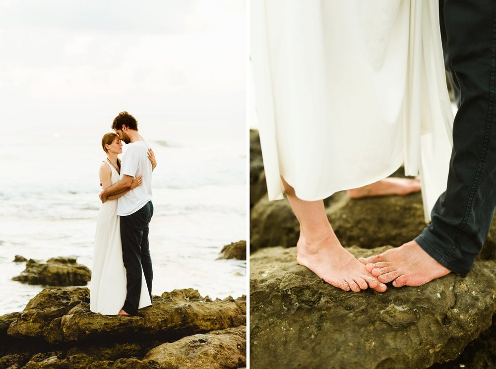Stefan and Martina's Costa Rica destination beach elopement is INSANELY perfect. I absolutely love the casual vibes on the Nicoya Peninsula! | Beach wedding photography by destination wedding photographer, Maddie Mae.