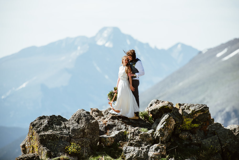 Rocky Mountain National Park Elopement Erin & Graham View Blog Post