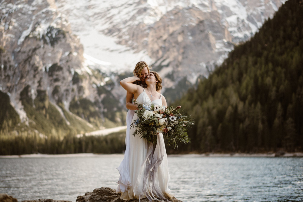 Italian Alps Dolomites Elopement Photographer    Rachael & Emily    Coming Soon