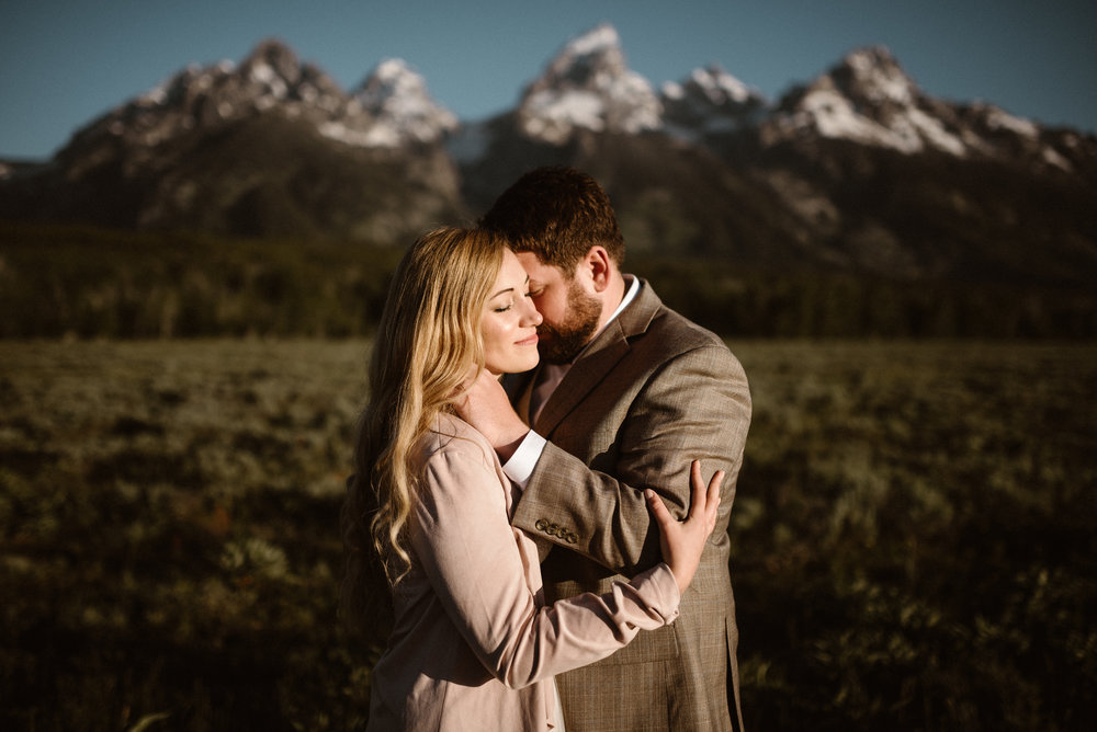 Grand Teton National Park Elopement Brooke & DJ View Blog Post