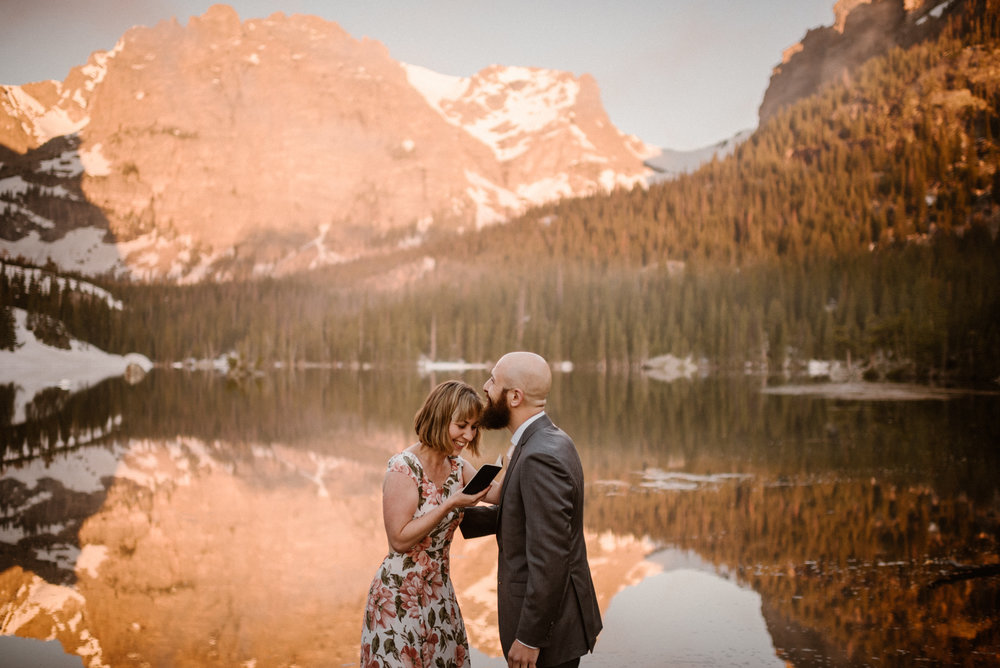 Rocky Mountain National Park Hiking Elopement    Sarah & Justin    Coming Soon