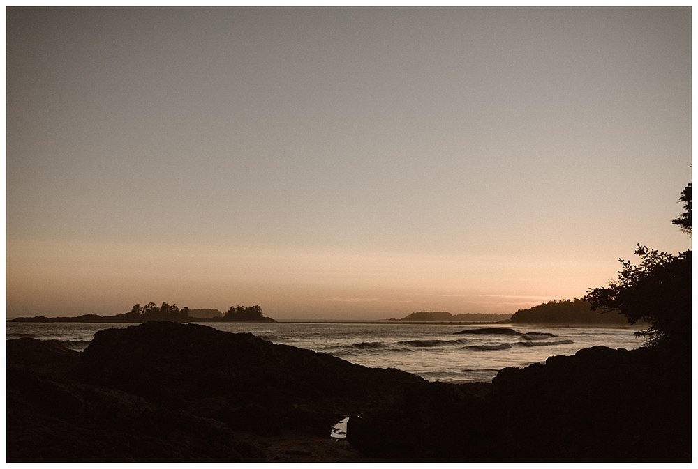 Tofino BC is an incredible location for an intimate wedding or private adventurous elopement. This day long adventure captured by traveling wedding photographer Maddie Mae.