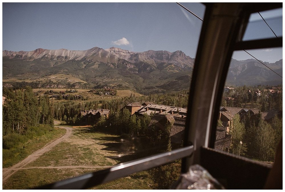There's something special about getting to see the world from above, the way a bird does. This adventurous couple hiked before sunrise into the San Juan Mountains for a private first look up Ophir Pass accessible only by Jeep 4x4. Their intimate wedding ceremony held at the Telluride Ski Resort was captured by traveling elopement photographer Maddie Mae.