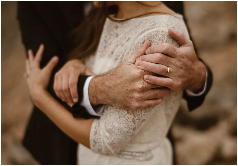 Our elopement guide is a 5 step process that will help you learn how to plan your best elopement day. Photo by Adventure Instead | Maddie Mae Photography.