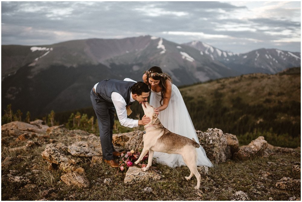 You're pretty bad ass for wanting an adventure elopement. There are five main steps to plan your own elopement ceremony. Photo by Adventure Instead | Maddie Mae Photography.