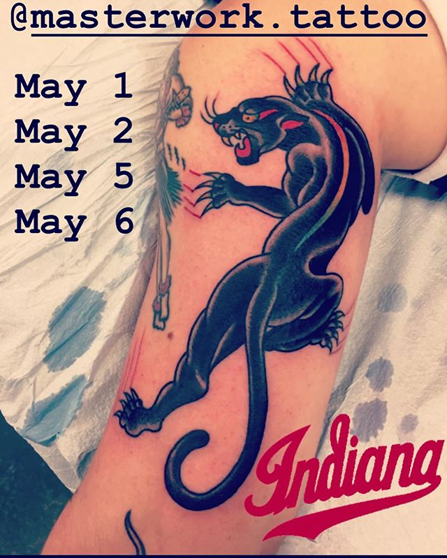 @donniekizzee will be tattooing a few days in May @masterwork.tattoo  DM him directly to book appointments #indianapolis #chicago #peoria