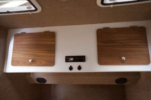 Custom Teak Wood Cabinet