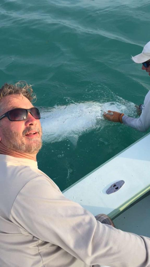 Tony Horsley, Tarpon Fishing, Islamorada