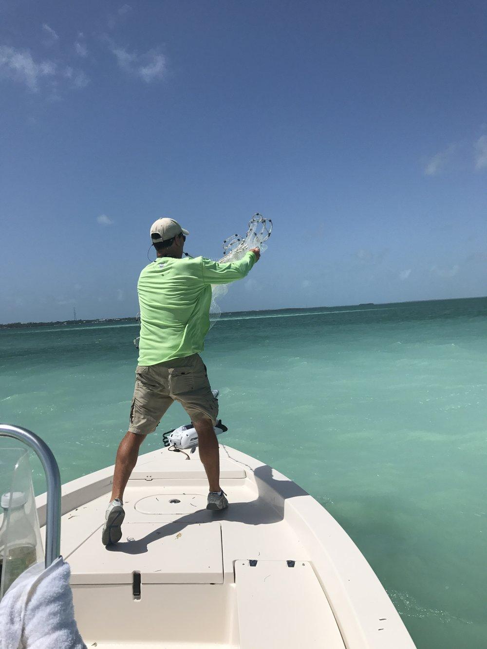 Backcountry fishing Florida Keys