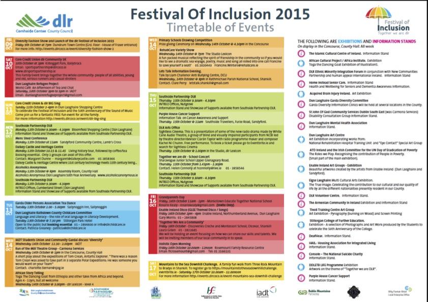 Festival of Inclusion 2015