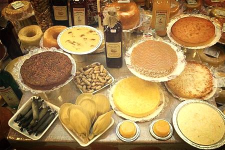 Algunos de los platos típicos en las fiestas juninas