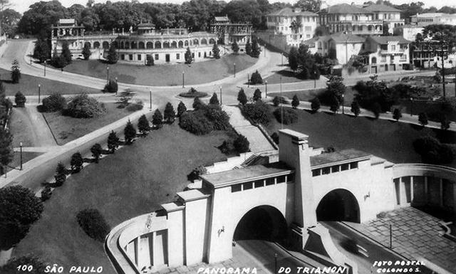 La Avenida 9 de Julho en 1940