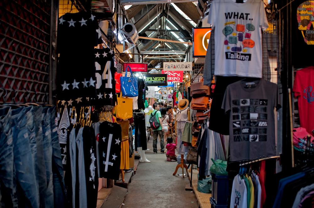 Los pasillos del mercado son un auténtico laberinto