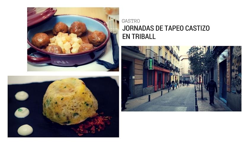 """La zona de Triball es uno de los iconos de la modernidad en Madrid: un gran triángulo en el que los catetos serían Fuencarral y Gran Vía, y la hipotenusa la Corredera Baja de San Pablo,en el que caben apenas docena y media de calles que concentran alguno de los mejores garitos de Madrid. Esta semana, las """"Jornadas de tapeo castizo en Triball"""": 32 participantes con tapas, cócteles y otras propuestas. Todos los detalles    en la web de la asociación de comerciantes   , aunque el mejor consejo es que directamente os acerquéis hasta allí y os dejéis llevar de un sitio a otro."""