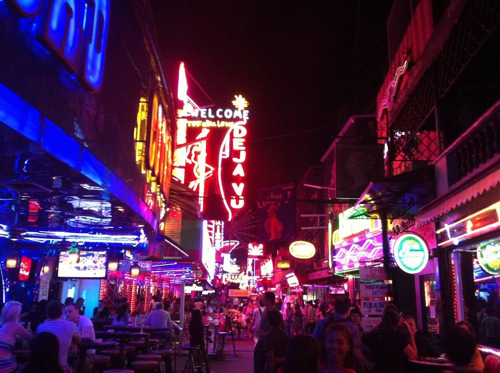 Carpe-Diem.Today Que ver en Bangkok Mercado nocturno.JPG