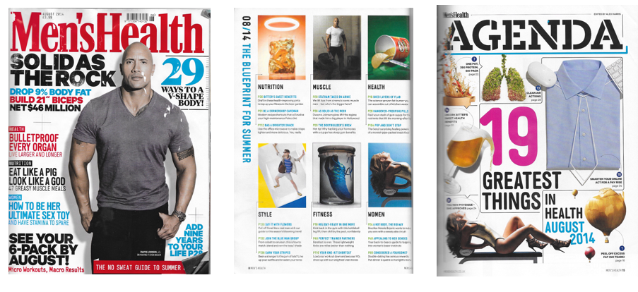 Men's Health UK, August 2014
