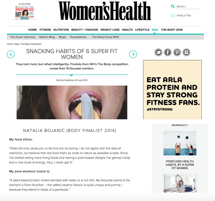 womenshealth.co.uk - June 2016