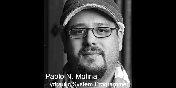 Pablo N. Molina  is an LA and NYC based video, lighting and sound artist. He specializes in emerging technologies and custom software development. His design work has also been seen in numerous exhibitions, theatrical, music, and dance works at venues such as RedCat, BAM, The Wexner Center, Beta Level, the Katmandu International Theater Festival, LACMA, EMPAC, and many others. Most recently his animated video content was prominently featured in Linkin Park, Nickelback, Creed, and A.R. Rahman's world concert tours. He is an associate artist with MODE Studios in Seattle. Pablo also helped initiate the Video for Performance MFA Specialization at the California Institute of the Arts School of Theater, where he teaches.