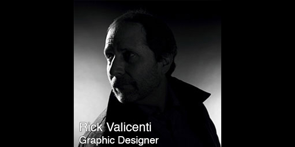 Rick Valicenti  is the founder and design director of Thirst/3st, communication design firm devoted to art, function, and real human presence. He has been influencing the design discourse internationally since 1988 and is a leading presence in design as a practitioner, educator, and mentor.  Valicenti was honored by the White House in 2011 with the Smithsonian Cooper‐Hewitt National Design Award for Communication Design. In 2006, he received the AIGA Medal, the highest honor of the graphic design profession, for his sustained contribution to design excellence and the development of the profession, and in 2004, was recognized as an AIGA/Chicago Fellow. Valicenti has been a member of AGI (Alliance Graphique Internationale) since being invited in 1996.