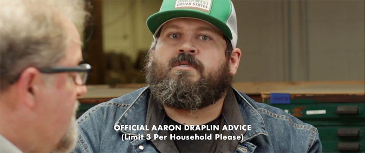 "Nose-flaring ""Stock up!"" from Aaron Draplin. And I'm sorry I have more than 3 packs (subscription + 3 packs)? I swear I'm not a shady reseller or anything! >_<"