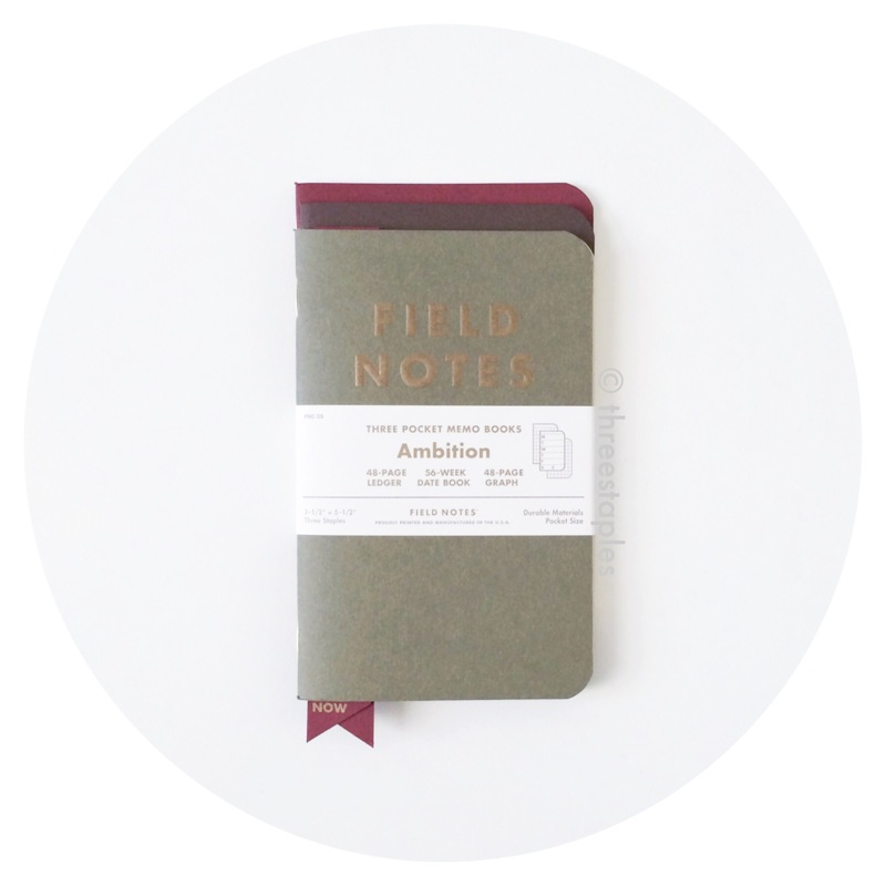 Field Notes Colors: Ambition (Winter 2014)